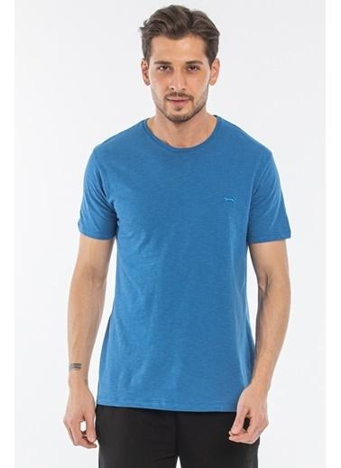 Slazenger Slazenger SAND Erkek T-Shirt  İndigo